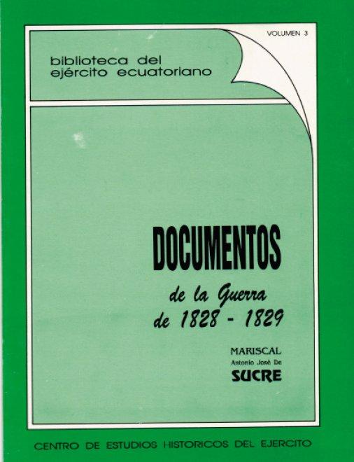 Documentos de la Guerra 1828-1829