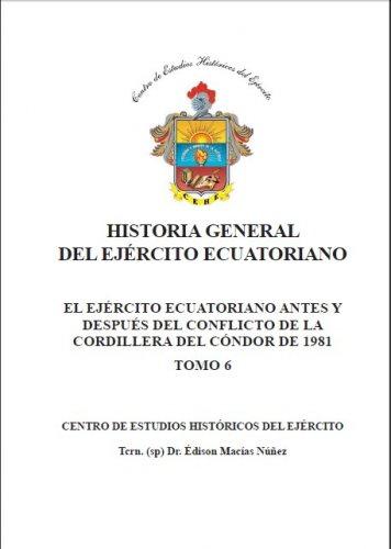 EJÉRCITO ECUATORIANO ANTES Y DESPUES DEL CONFLICTO DE LA CORDILLERA DEL CONDOR 1981