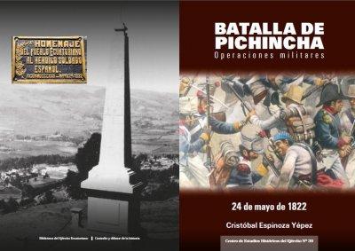 Batalla de Pichincha, operaciones militares.