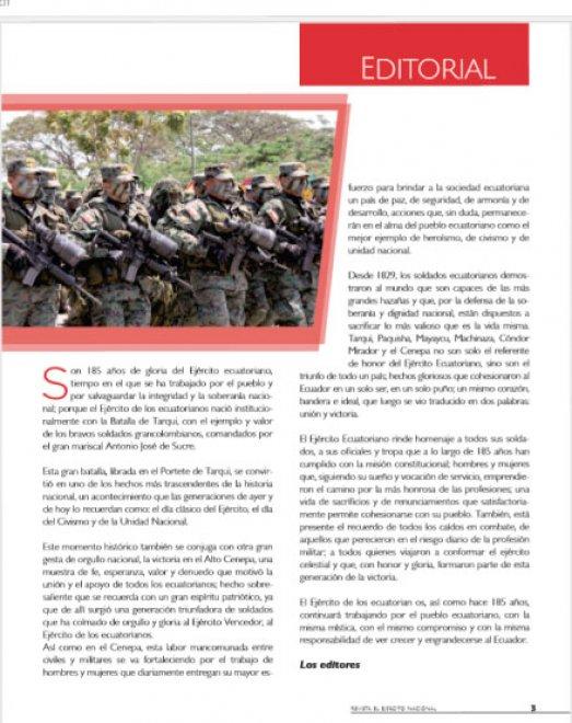 Revista Ejército Nacional 195